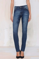 Cheap Monday Tight Skinny Jeans Dark Wash
