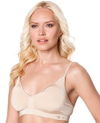 A Pea In The Pod Seamless Full Coverage Clip Down Nursing Bra Nude