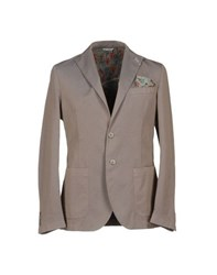 Manuel Ritz Suits And Jackets Blazers Men Khaki