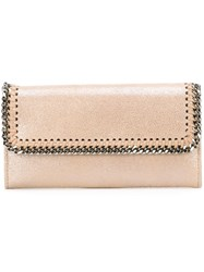 Stella Mccartney 'Falabella' Wallet Nude And Neutrals