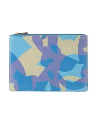 Viktor And Rolf Small Leather Goods Pouches Women Blue