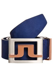 J. Lindeberg J.Lindeberg Slater Belt Navy Purple Dark Blue