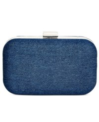 Styleandco. Style And Co. Mollie Fabric Clutch Only At Macy's Dark Blue