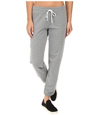 Lucy Everyday Sweatpants Silver Filigree Heather Women's Workout Gray