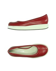 Jil Sander Navy Footwear Courts Women