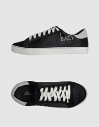 Baci And Abbracci Sneakers Black