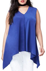 Rachel Roy Plus Size Women's Side Drape Top
