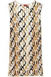 Missoni Cutout Knitted Coverup White