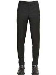 Givenchy Slim Fit Wool Gabardine Pants