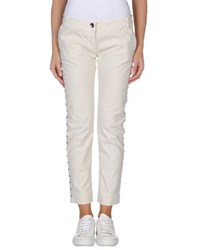 8Pm Trousers Casual Trousers Women Ivory