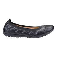 Geox Piuma Quilted Ballet Pumps Black