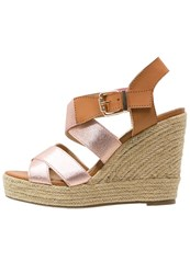 Xti High Heeled Sandals Nude