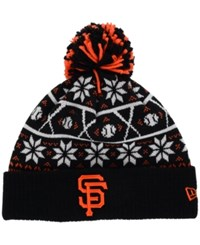 New Era San Francisco Giants Sweater Chill Pom Knit Hat