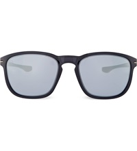 Oakley Enduro Sunglasses With Blue Tinted Lenses Oo9223 Black Ink
