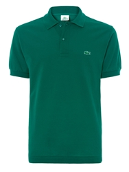 Lacoste Pique Men S Short Sleeve Polo Green