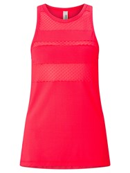 Lorna Jane B Girl Excel Tank Top Cupid Red Pink