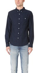 Native Youth Encode Shirt Indigo