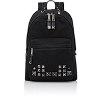 Marc Jacobs Women's Studded Backpack Black Blue Black Blue