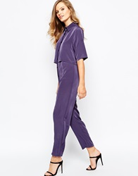 The Laden Showroom X Mirror Mirror Layered Shirt Jumpsuit