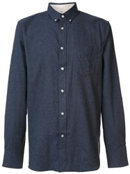 Rag And Bone 'Standard Issue' Shirt Blue