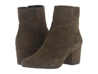 Steven Wes Olive Suede Women's Boots