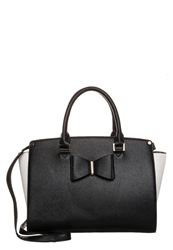 Lydc London Handbag Black White