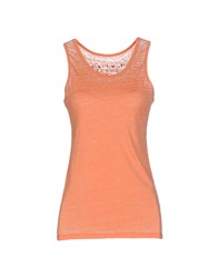 Red Soul Topwear Vests Women Orange