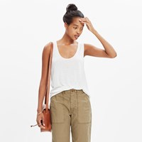 Madewell Pre Order Anthem Scoop Tank Top