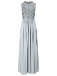 Phase Eight Collection 8 Ione Embellished Dress Powder Blue