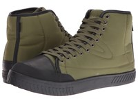 Tretorn Bailey 4 Olive Black Black Men's Lace Up Casual Shoes