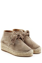 Rag And Bone Rag And Bone Suede Platfrom Espadrilles Grey