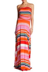 Felicity And Coco Strapless Maxi Dress Pink