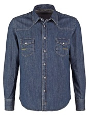 Meltin Pot Carey Shirt Blue Denim