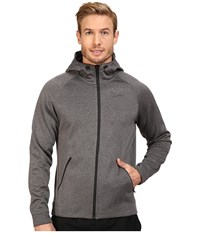 Nike Therma Sphere Training Hoodie Charcoal Heather Black Dark Grey Black Men's Coat Charcoal Heather Black Dark Grey Black