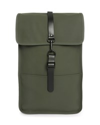 Rains Green Waterproof Backpack