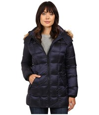 Marc New York Maddy 30 Metallic Down Jacket Royal Blue Women's Coat