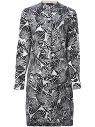 Paul Smith Leaf Print Shirt Dress
