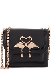 Sophia Webster Claudie Small Black Leather Cross Body Bag
