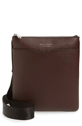 Boss Men's 'Signature' Leather Crossbody Bag