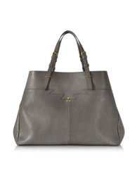 Jerome Dreyfuss Maurice Gray Leather Tote
