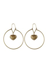 Etro Hoop Earrings Gold