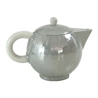 Villari Capri Coffee Pot Pearl Grey