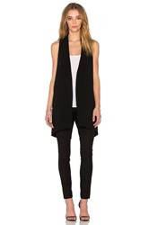 Elizabeth And James Neema Vest Black