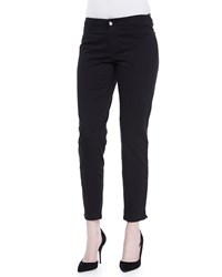 Christopher Blue Kristin E Waist Ankle Pants Black White