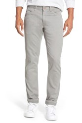 Bonobos 'Bedford' Slim Fit Straight Leg Corduroy Pants Gray