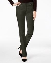 Charter Club Solid Lexington Corduroy Straight Leg Pant Only At Macy's Autumn Sage