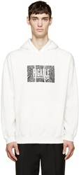 Pigalle White Wave Logo Hoodie