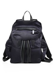 Alexander Wang Marti Leather Backpack Black