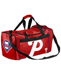 Forever Collectibles Philadelphia Phillies Core Duffle Bag Red