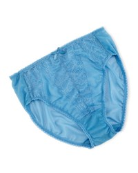 Wacoal Retro Chic High Cut Briefs Parisian Blue